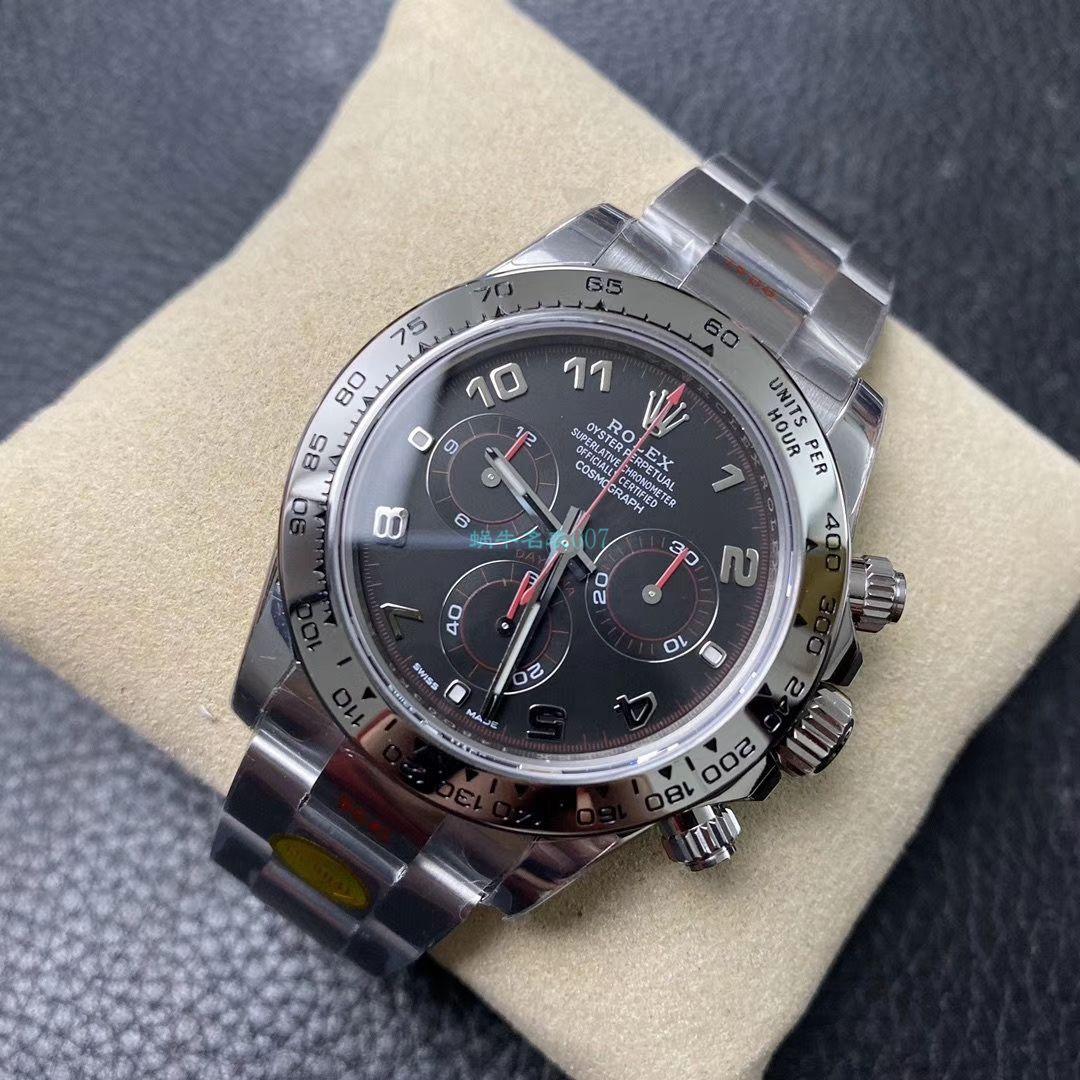 N厂新款超级4130劳力士宇宙计型迪通拿116509-78599 黑盘,116509-78599 银色腕表 / R563