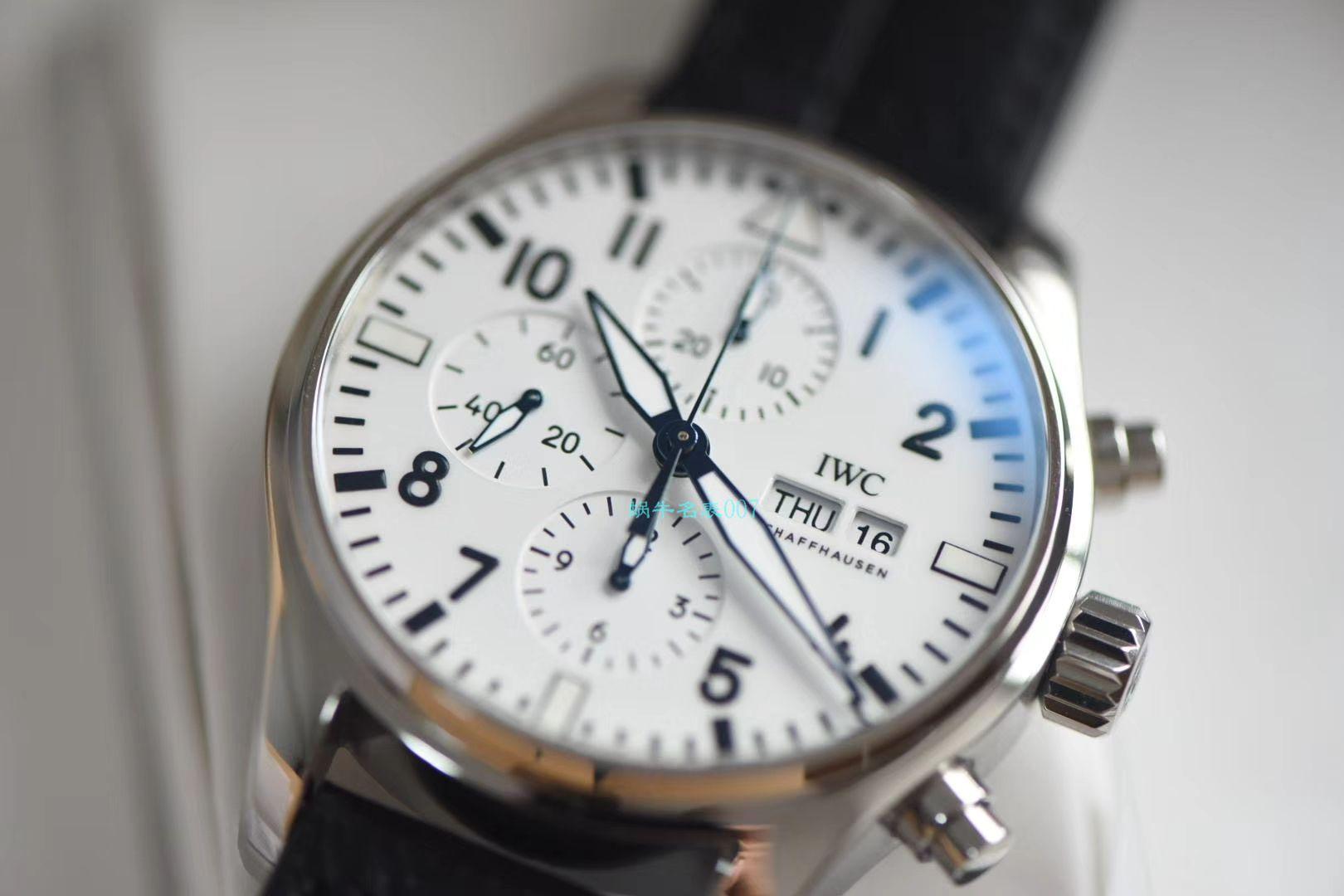 【视频评测渠道原单】IWC万国表150周年纪念特别版IW377725腕表 / WG518