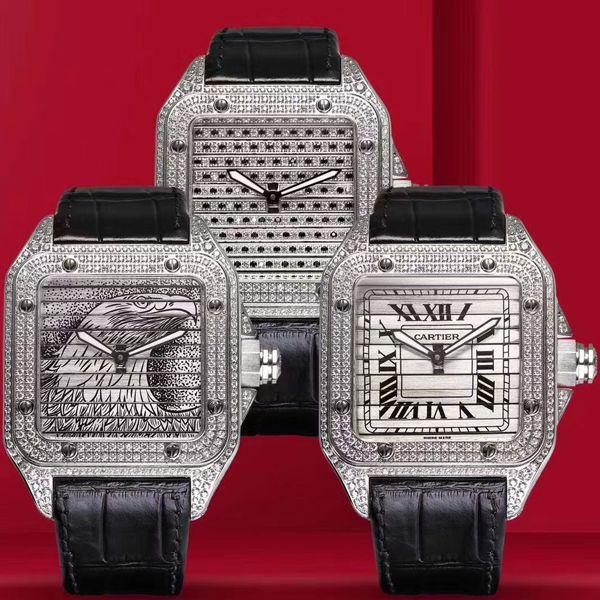 wwf厂顶级复刻卡地亚山度士鹰头WM505014腕表价格报价