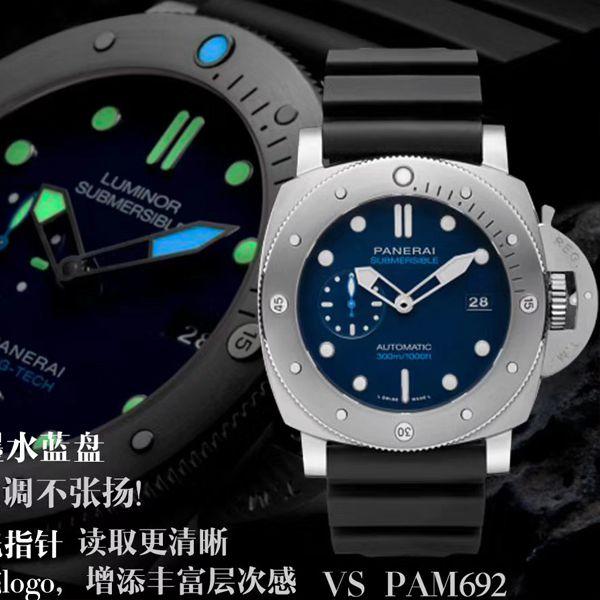 VS厂顶级复刻手表沛纳海SUBMERSIBLE 潜行系列PAM00692腕表价格报价
