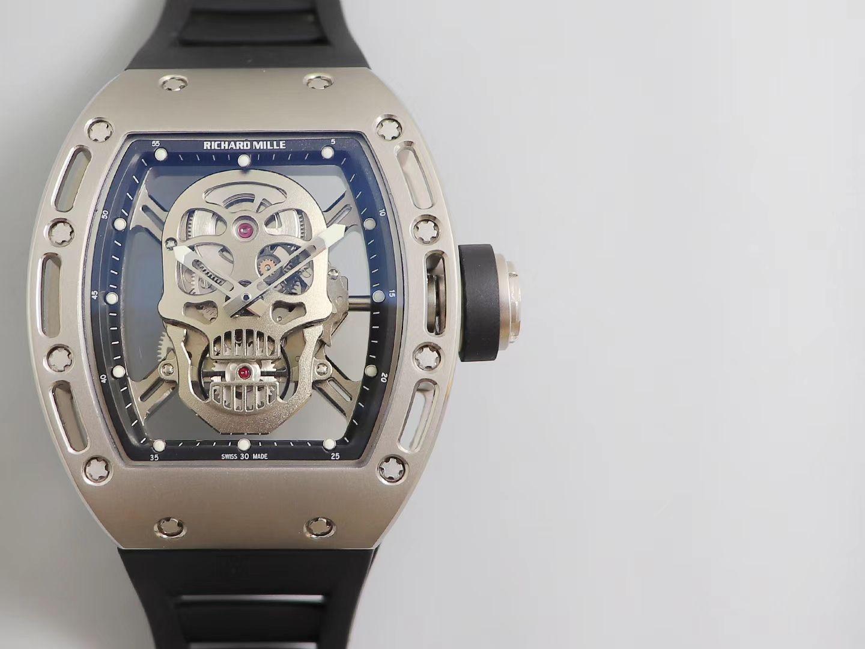 ZF厂理查德米勒鬼王骷髅头男士系列RM 52-01腕表 / RM052ZF