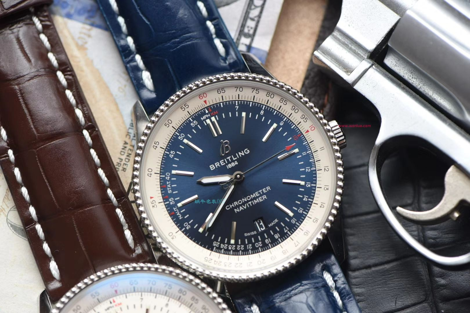 【视频评测007顶级超A复刻】百年灵航空计时41毫米系列A17326211G1P1腕表 / BL153