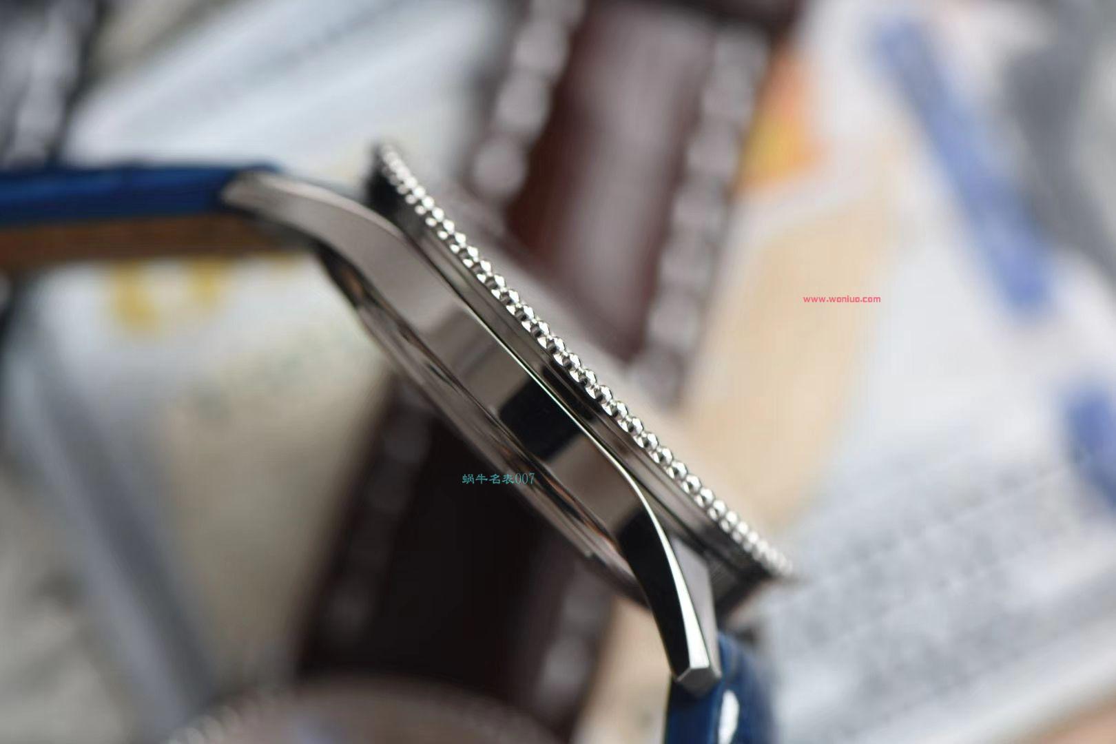 视频评测名表007定制版百年灵航空计时41毫米系列A17326211B1P1腕表 / BL157