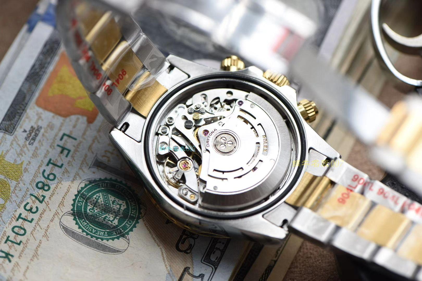 【视频评测NOOB厂最新超级4130】劳力士宇宙计型迪通拿系列m116503-0003腕表 / R569