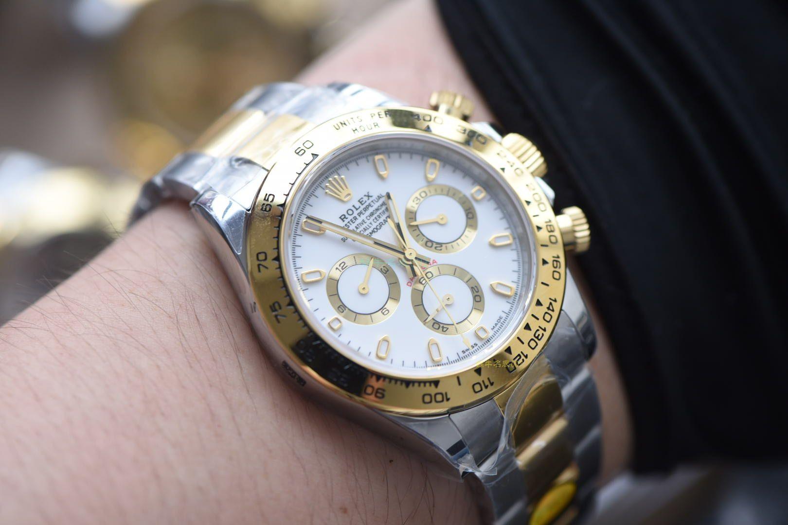 【视频评测N厂超A高仿手表】劳力士宇宙计型迪通拿系列m116503-0004腕表 / R567