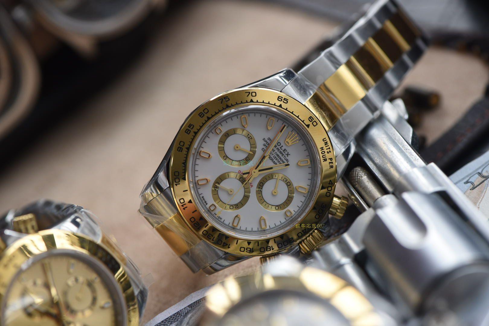 【N厂顶级复刻手表间金4130】劳力士宇宙计型迪通拿系列116523-78593 银色腕表 / R568