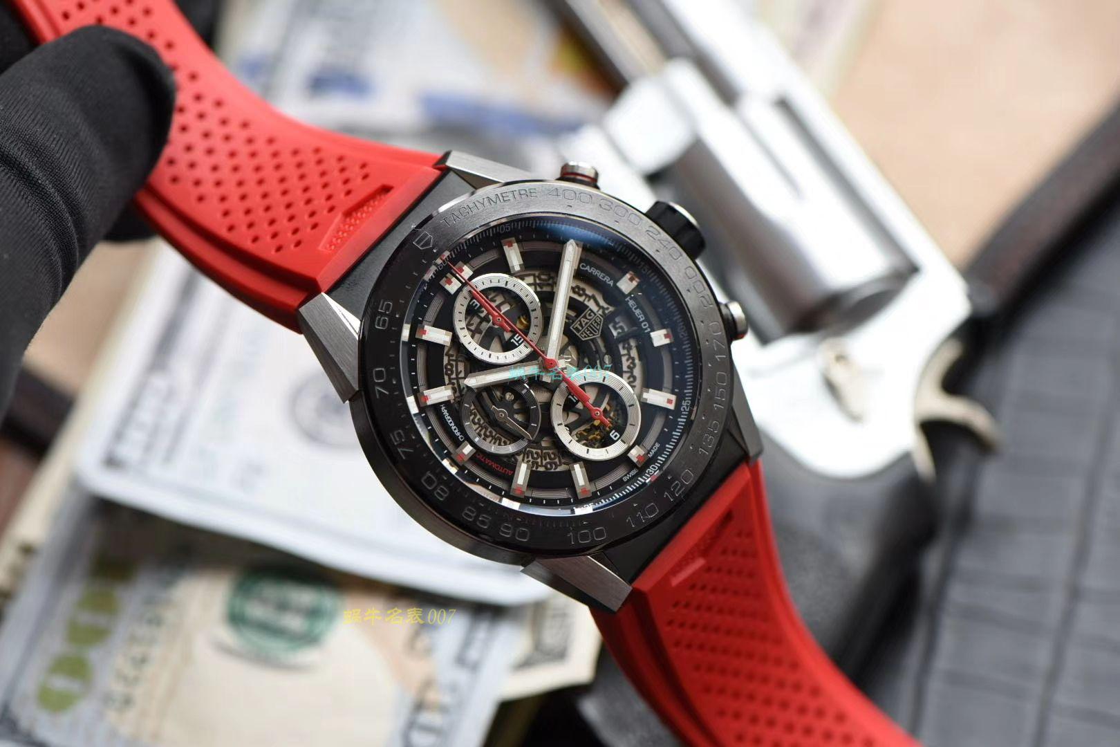 XF厂超A高仿手表泰格豪雅卡莱拉系列CAR2A1Z.FT6050腕表 / TG092