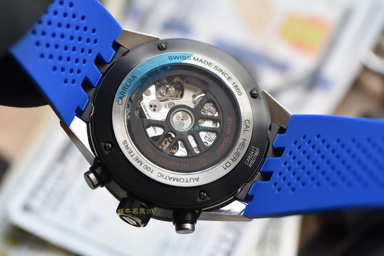 XF厂一比一精仿手表泰格豪雅卡莱拉系列CAR2A1T.FT6052腕表 / TG093