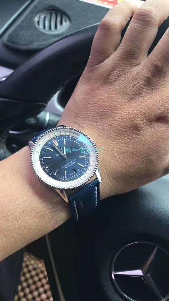 【视频评测定制瑞士机芯】百年灵顶级复刻手表航空计时41毫米系列A17326211C1P3腕表 / BL156