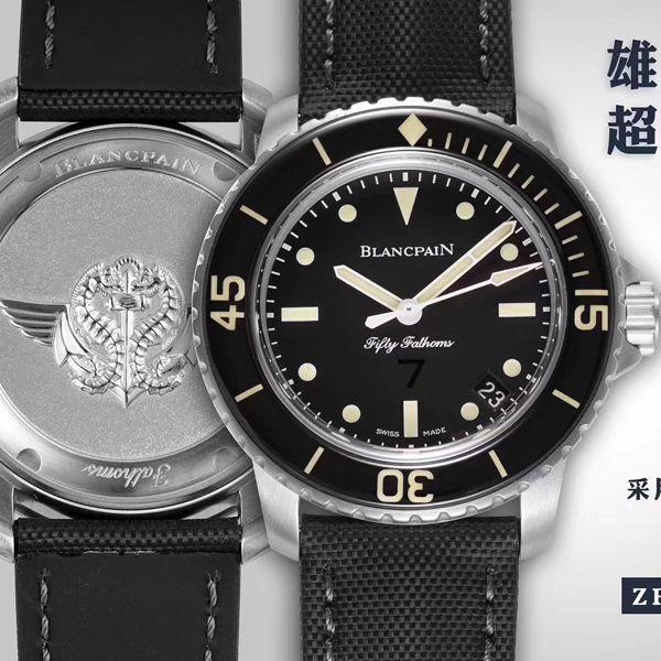 ZF厂超A高仿宝珀五十噚系列5015E-1130-B52A腕表