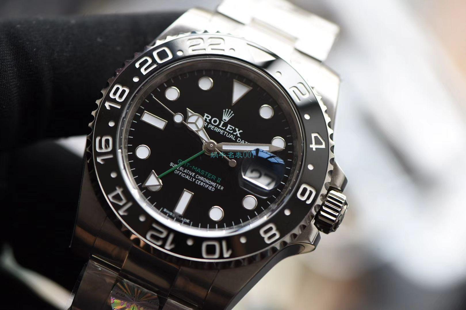 AR厂顶级复刻手表劳力士格林尼治型II二代116710LN-78200腕表(绿针) / R573