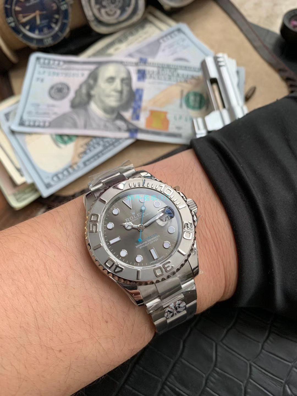 AR厂顶级复刻手表劳力士游艇名仕型37系列268622腕表 / R576