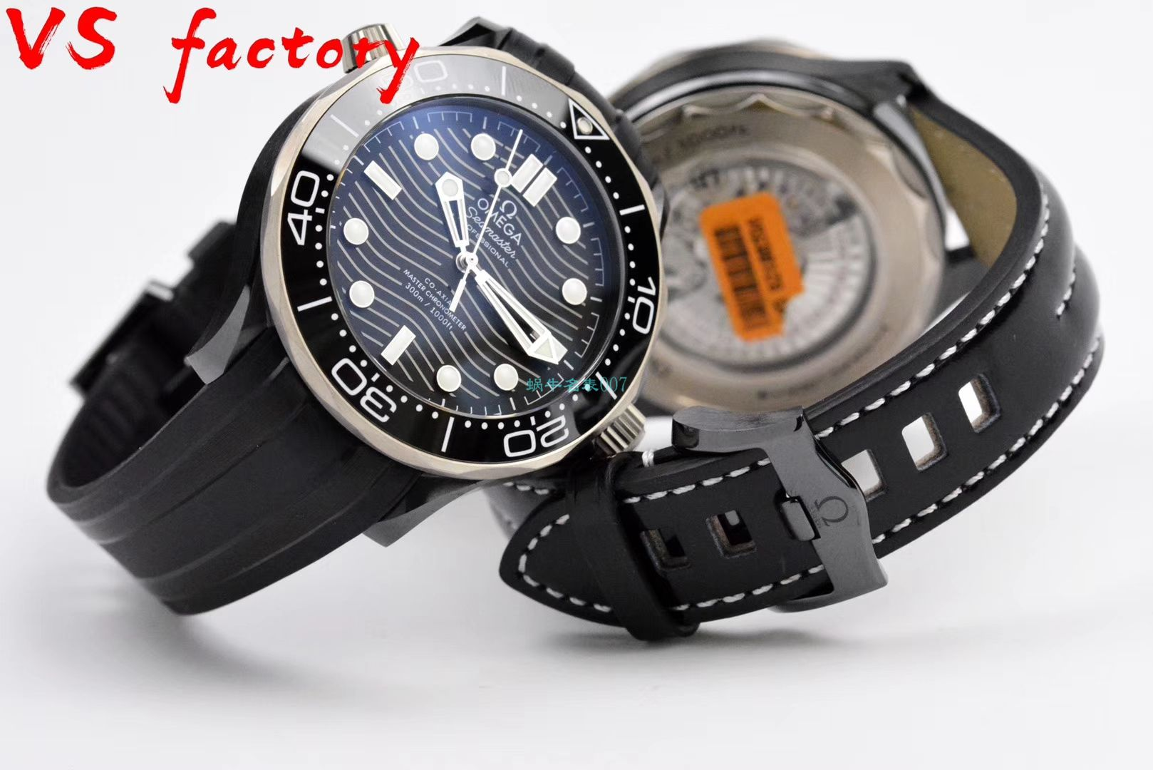 【视频】VS厂超A高仿欧米茄海马300米210.92.44.20.01.001真陶瓷腕表 / M692