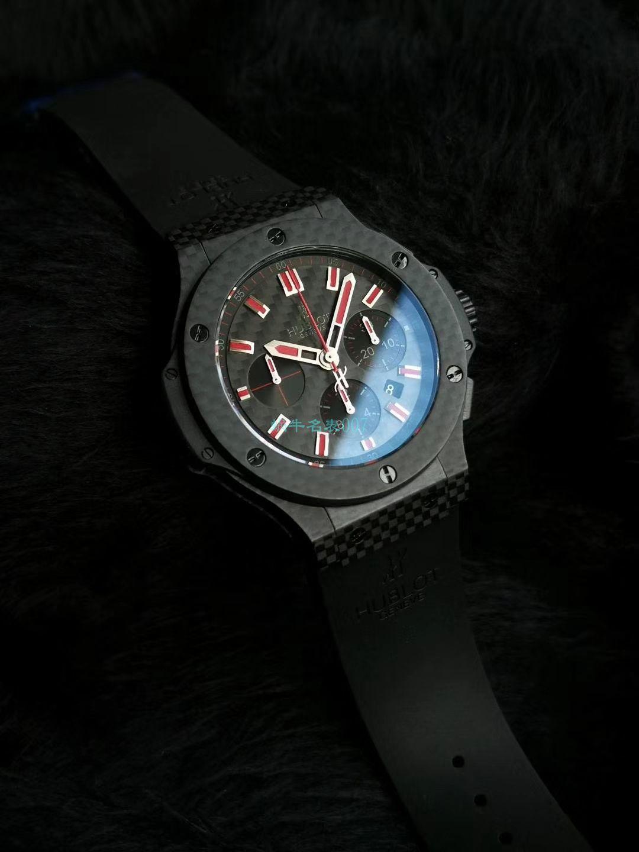 HBBV6厂超A精仿手表宇舶大爆炸碳纤维红字限定特别版腕表 / YB083