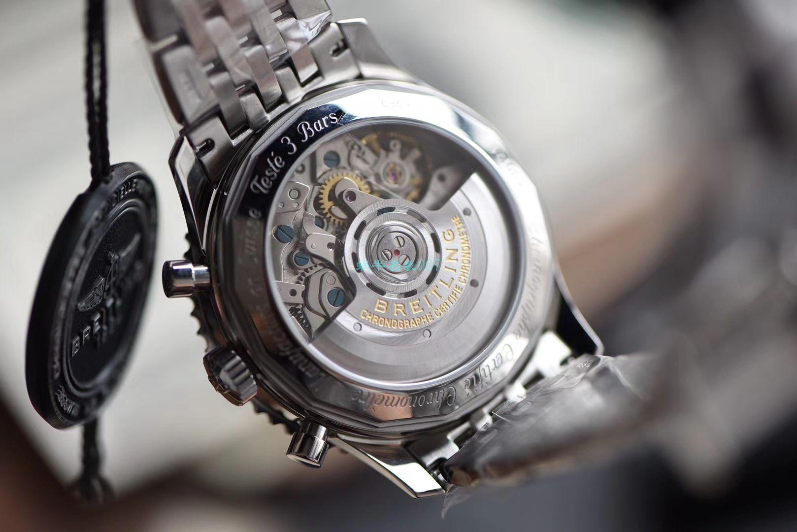 视频评测GF厂超A高仿手表百年灵航空计时 B01计时43系列AB0121211G1A1腕表 / BL163