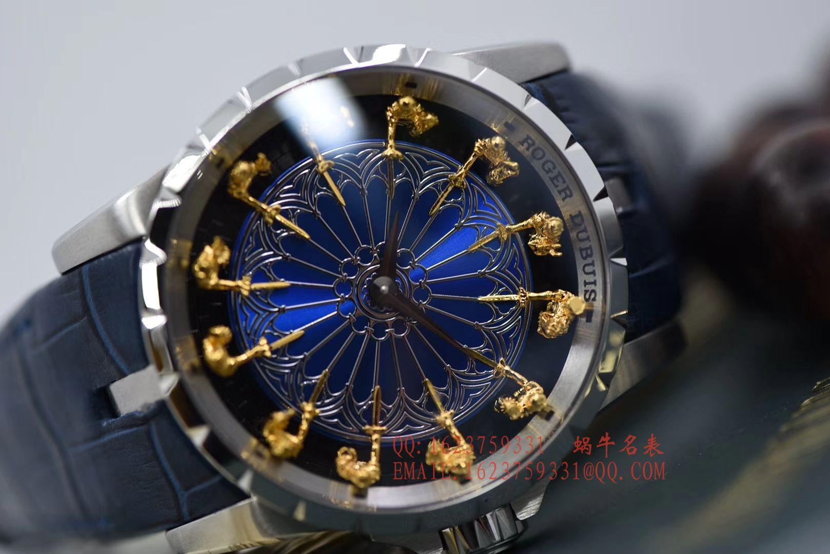 视频评测ZZ厂官网顶级复刻罗杰杜彼王者12圆桌骑士系列RDDBEX0511腕表 / LJ073