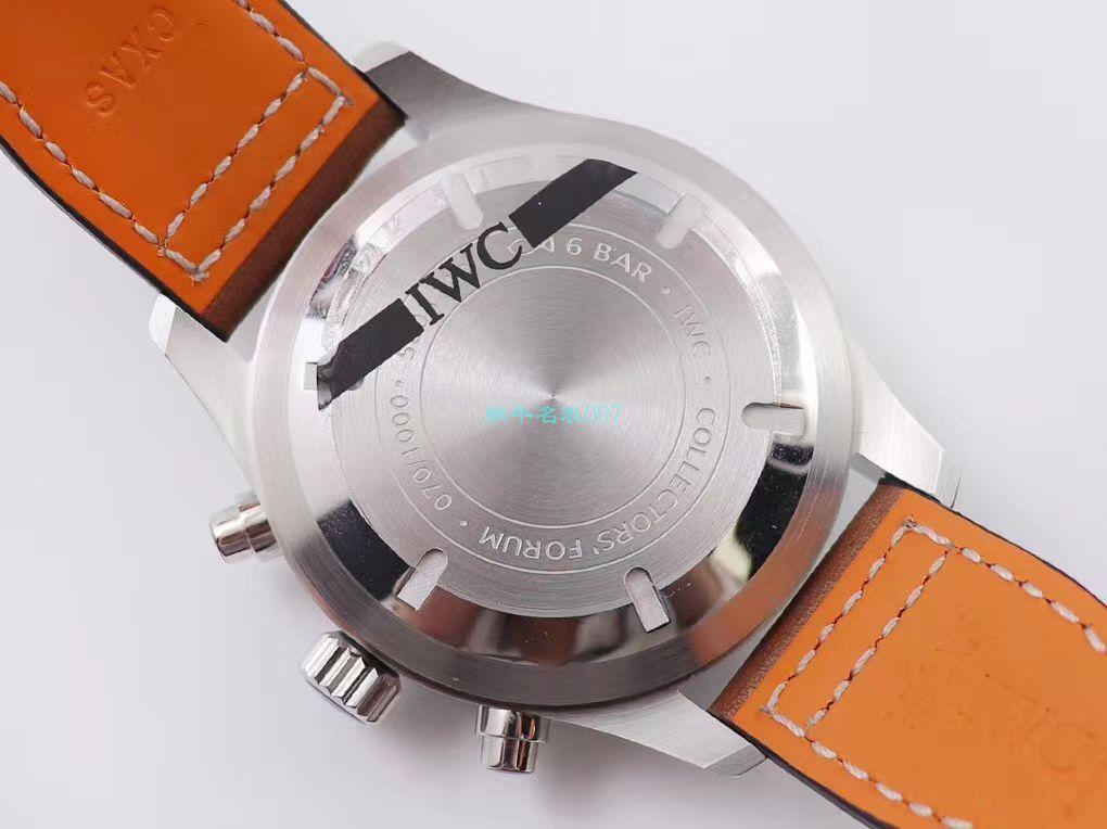 ZF厂复刻手表万国飞行员IW377725,IW377726,IW377713腕表 / WG522