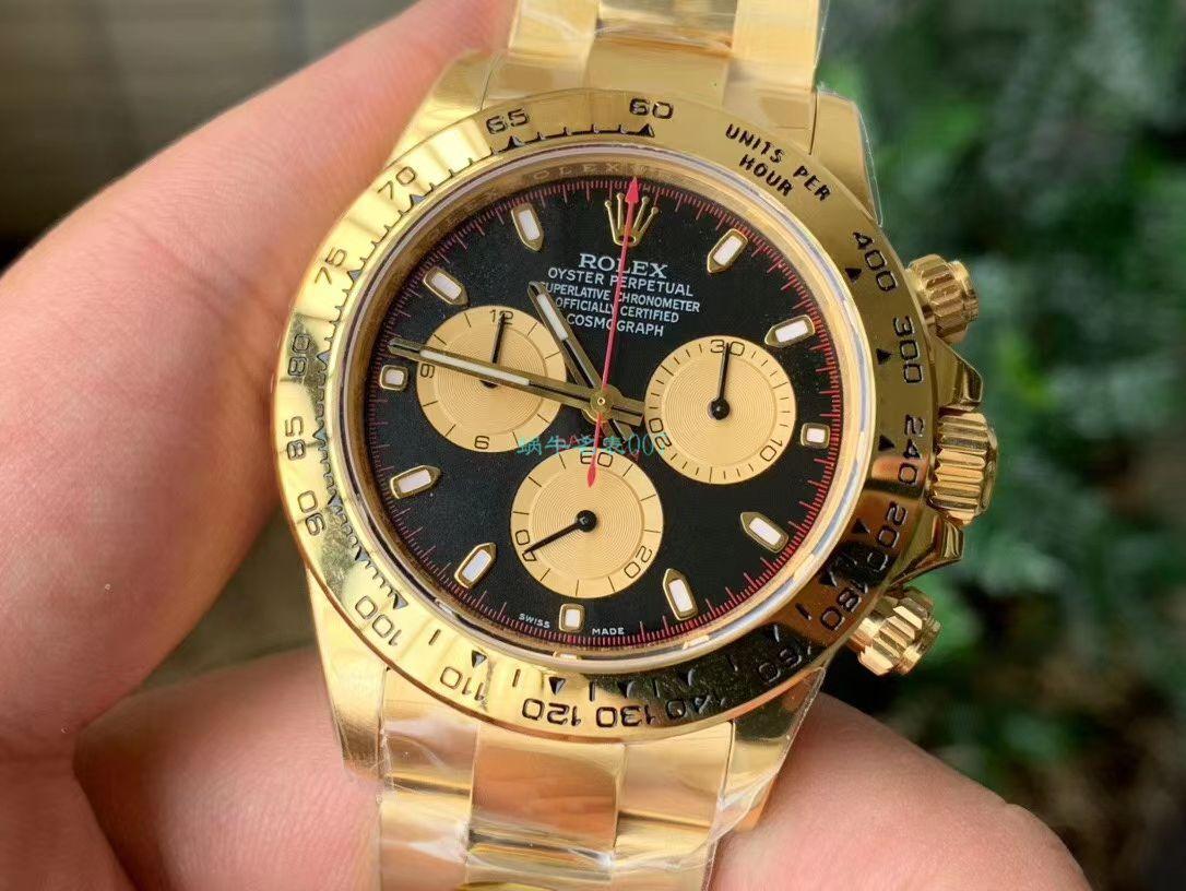 N厂超A高仿手表劳力士4130宇宙计型迪通拿系列m116508-0009腕表 / R588