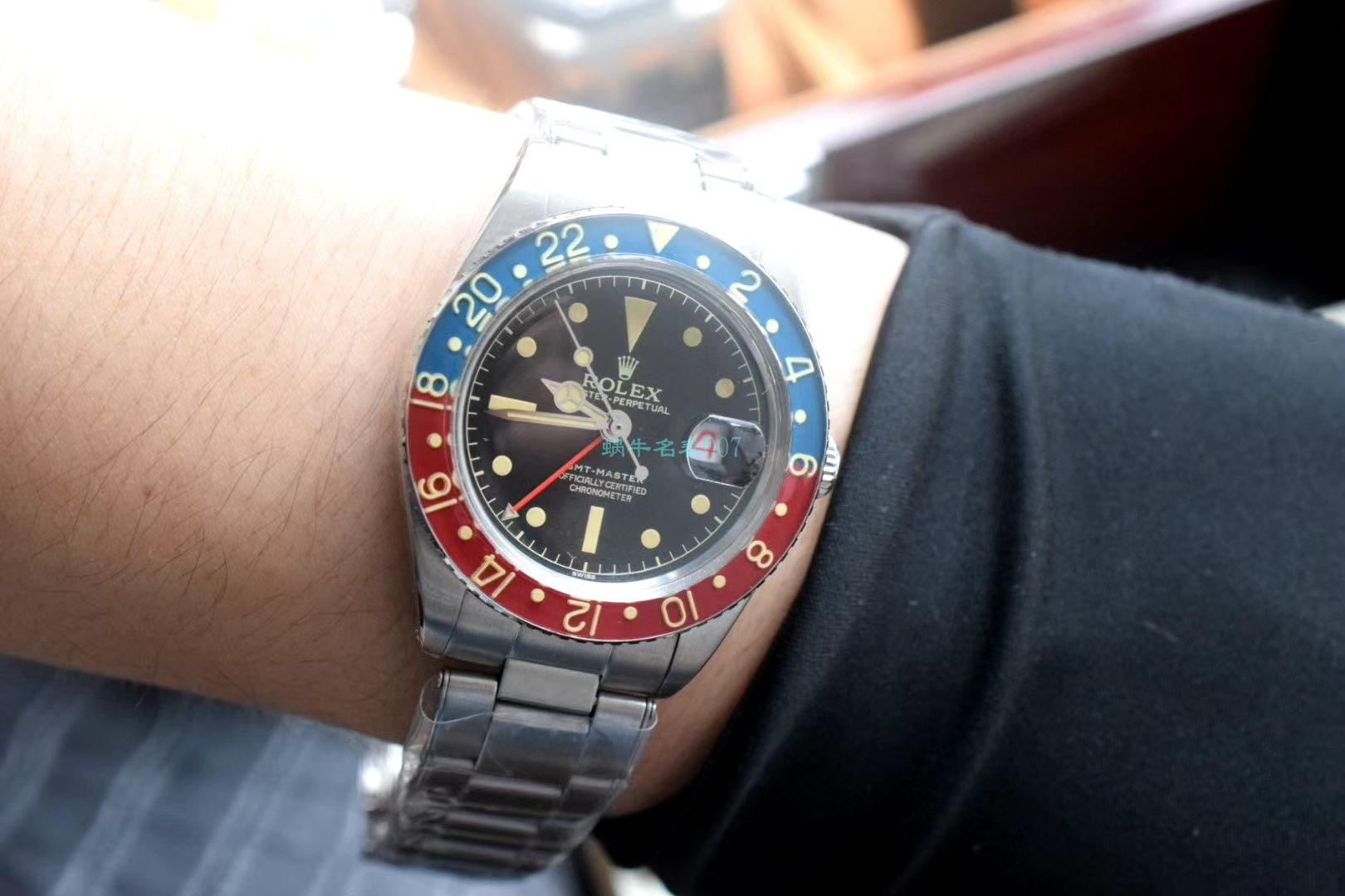劳力士复古格林尼治型II系列可乐圈GMT Master II 16710腕表 / R602