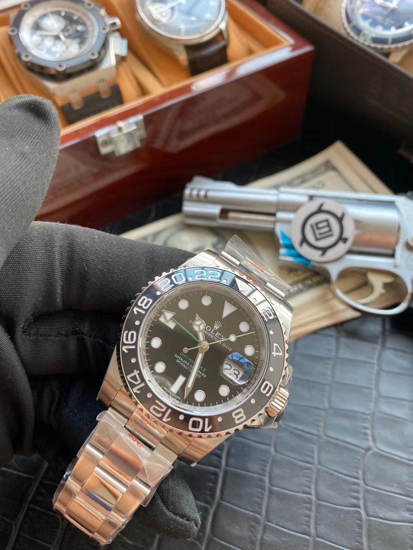 V9厂精仿手表劳力士格林尼治型II系列116710LN-78200腕表(绿针) / R605