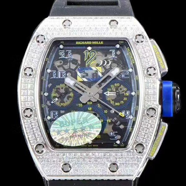 KV厂超A高仿手表理查德米勒RM011菲利普-马萨满钻限定版