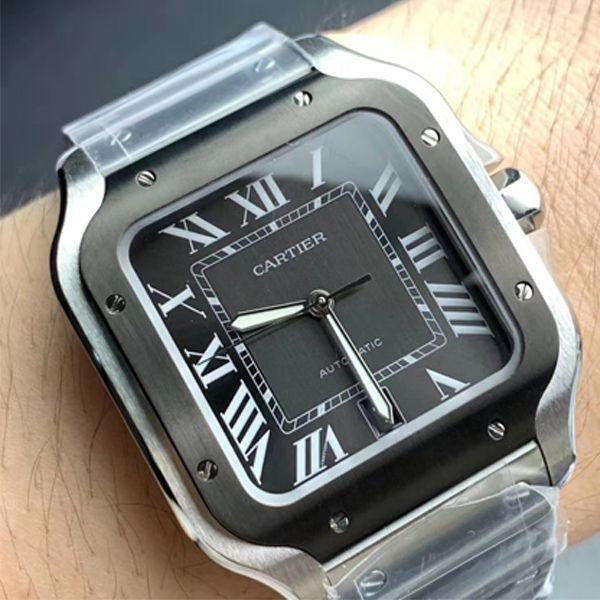 HBBV6厂超A高仿手表卡地亚山度士WSSA0037(大号男装)腕表价格报价