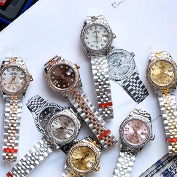 TW厂超A精仿手表劳力士女装日志型系列m279383rbr-0019,m279136rbr-0008腕表