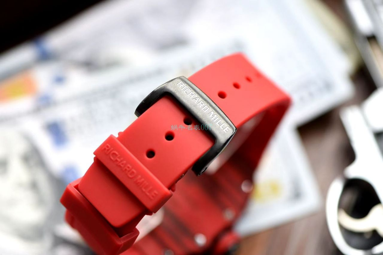 定制版NTPT碳纤维高仿手表RICHARD MILLE理查德米勒RM12-01陀飞轮腕表  / RM12-01HONGB