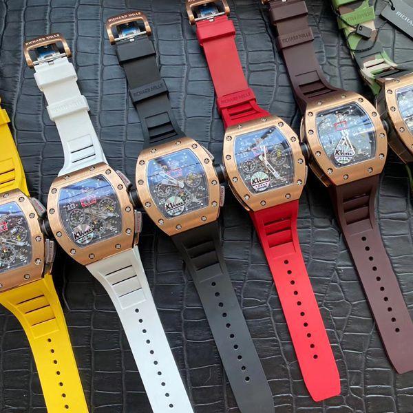 视频评测KV厂高仿理查德米勒菲利普·马萨RM 011手表价格报价