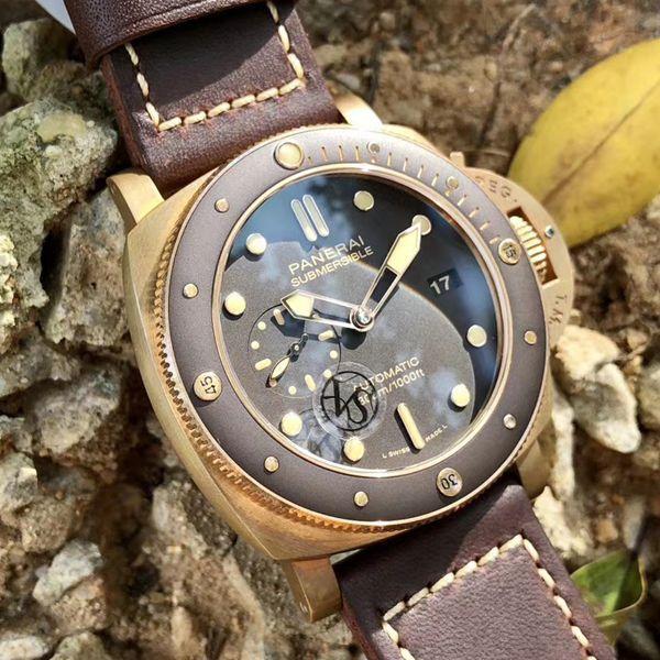 VS厂超A高仿青铜之王沛纳海潜行系列PAM00968腕表价格报价