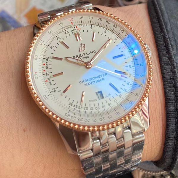 V7厂复刻手表百年灵航空计时1系列U17326211G1A1腕表价格报价