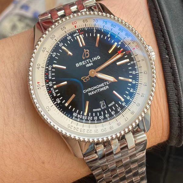 V7厂顶级精仿手表百年灵航空计时1系列A17326211B1A1腕表价格报价