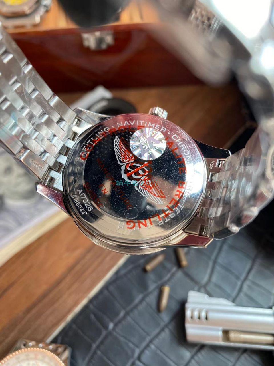 V7厂顶级精仿手表百年灵航空计时1系列A17326211B1A1腕表 / BL185B