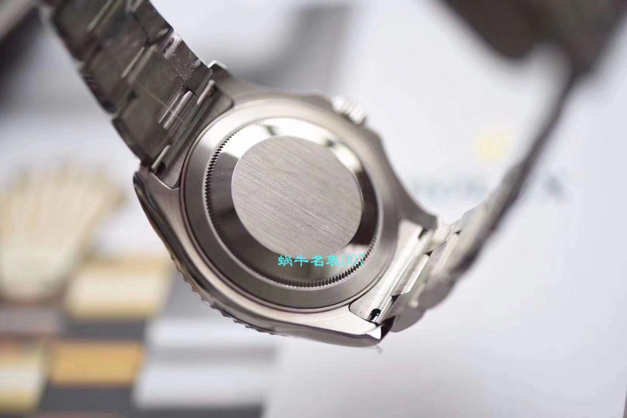 AR厂高仿手表劳力士游艇名仕型【视频评测】116622-78760 银盘腕表 / R636ar