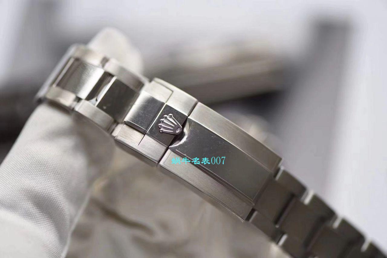 AR厂复刻手表劳力士游艇名仕型【视频评测】116622-78760 银盘腕表 / R637ar