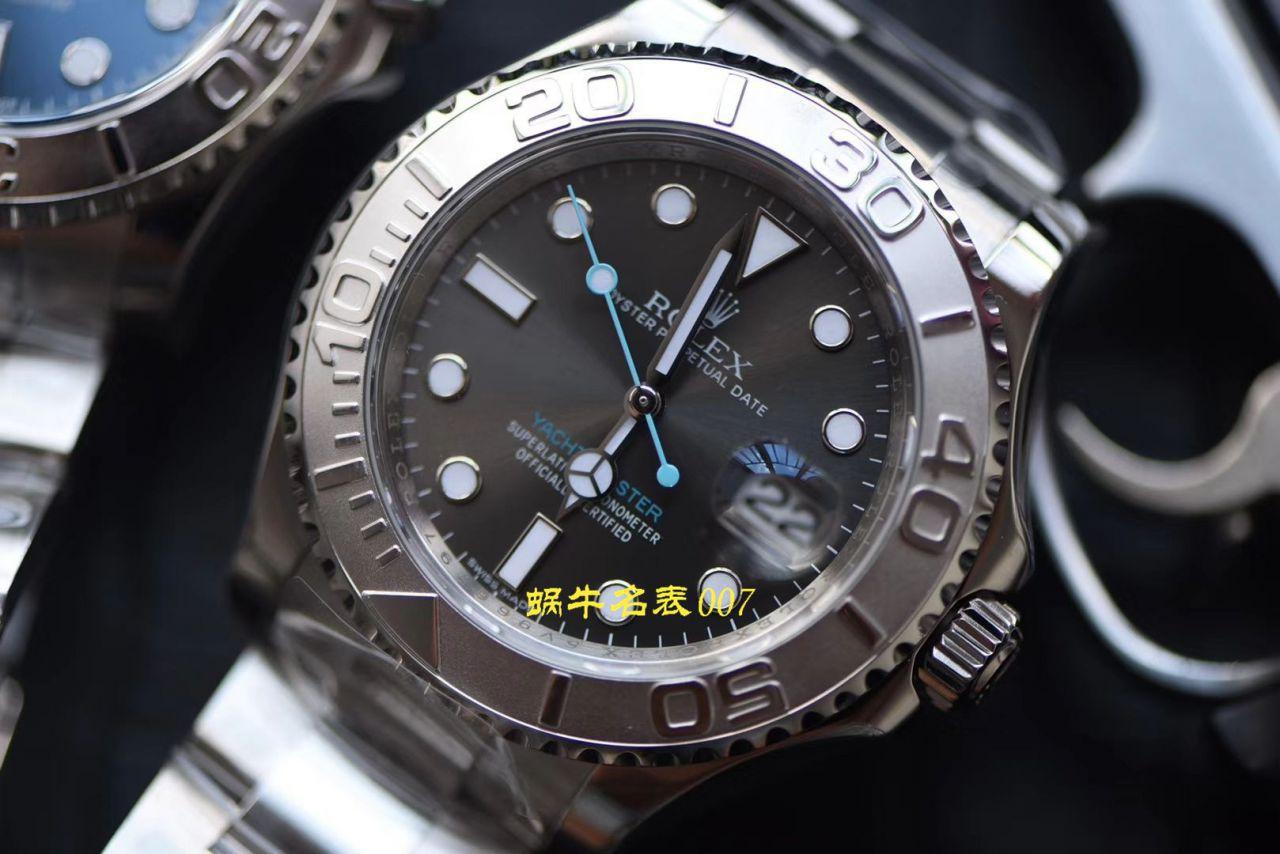 AR厂精仿手表劳力士游艇名仕型【视频评测】116622-78760 银盘腕表 / R638ar