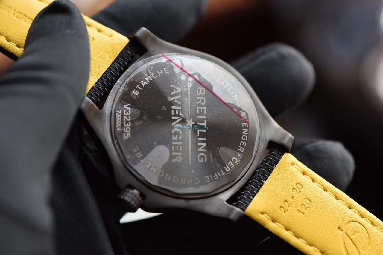 【视频评测】精仿百年灵复仇者GMT双时区手表V32395101B1X1腕表 / BL196GMT