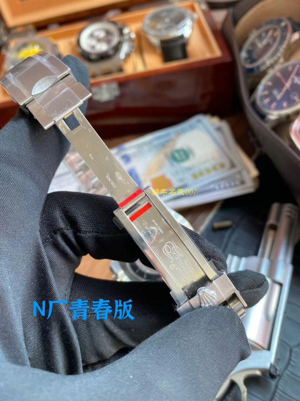 【视频评测】N厂青春版高仿劳力士绿水鬼116610LV-97200手表 / R650Nlvshuigui