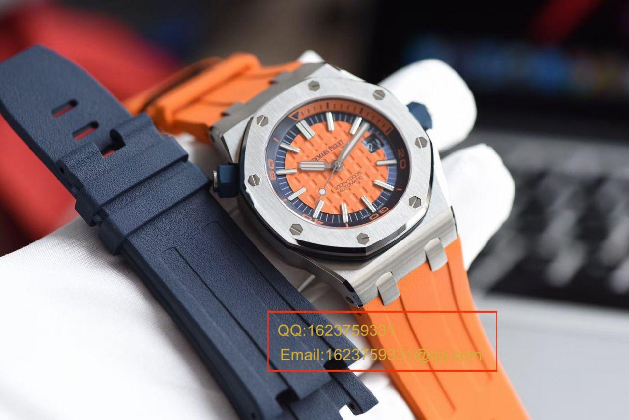 【视频评测】JF厂AP高仿手表爱彼皇家橡树离岸型15710ST.OO.A070CA.01 / AP211AP15710