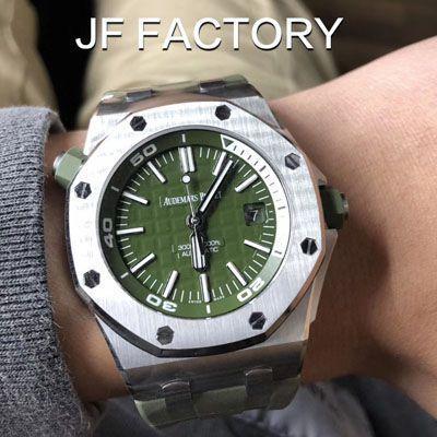 JF厂爱彼15710最高版本【视频评测】JF厂爱彼15710ST怎么样?