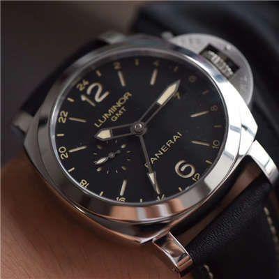 【视频评测】VS厂沛纳海高仿手表GMT双时区PAM00531价格报价