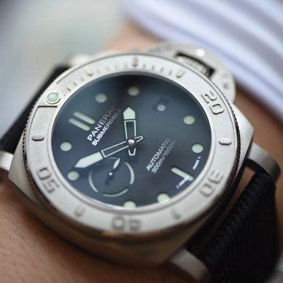 【视频评测】VS厂沛纳海高仿手表SUBMERSIBLE潜行者PAM00984价格报价