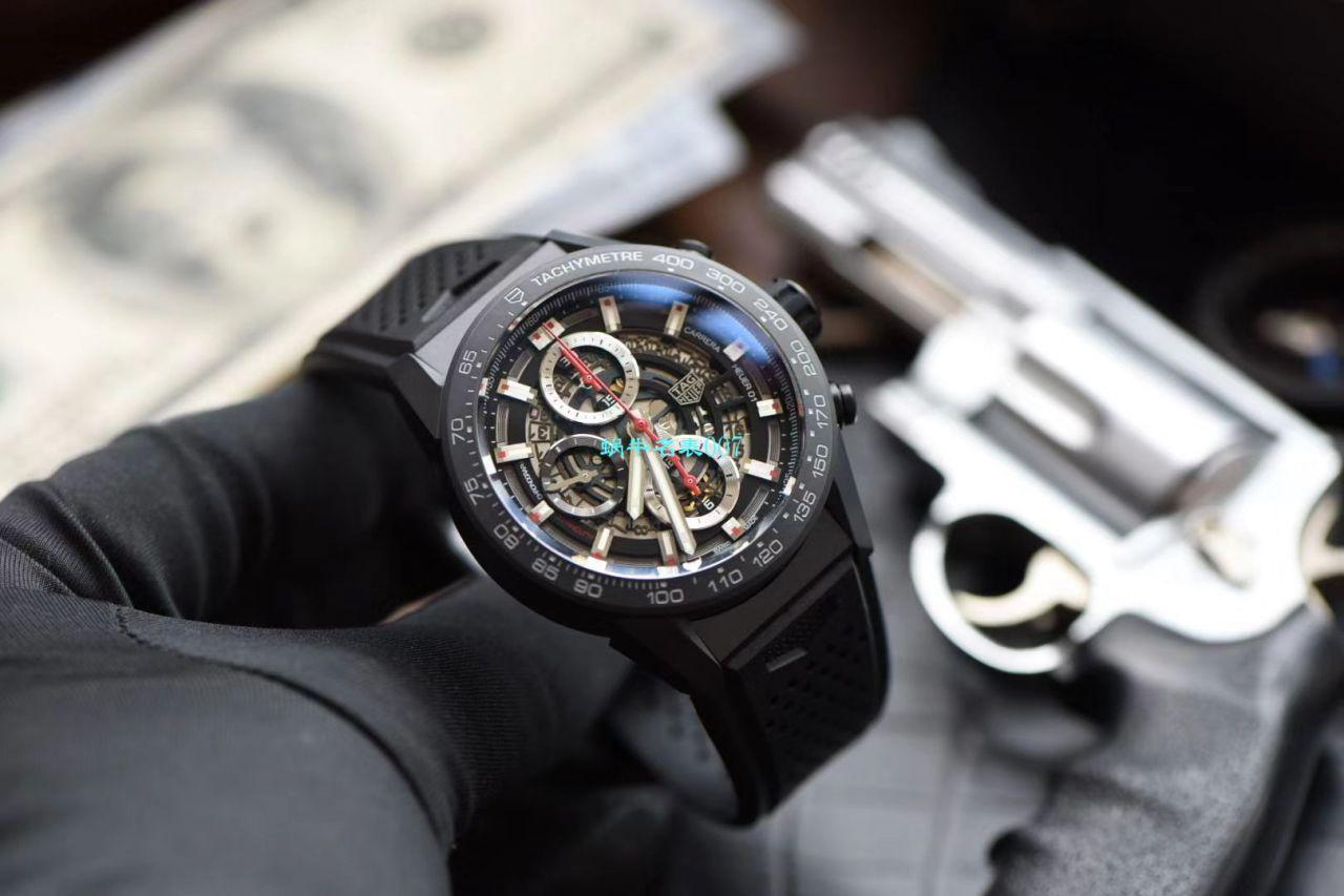 XF厂泰格豪雅复刻手表卡莱拉陶瓷红骑士CAR2090.FT6088腕表 / TG107XFfuke