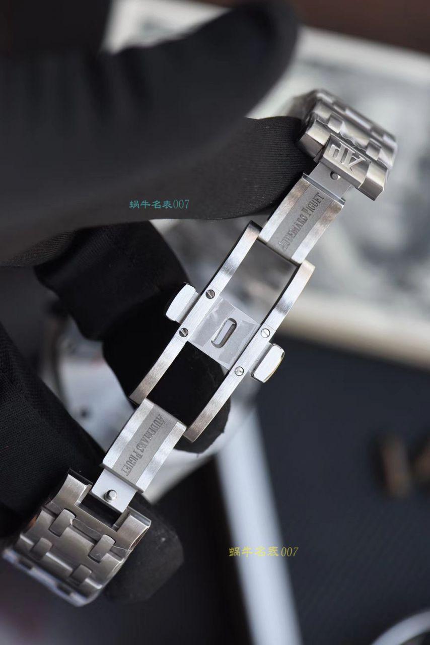【视频评测】JF厂超A高仿AP手表爱彼皇家橡树离岸型26237ST.OO.1000ST.01腕表 / AP212JFchang