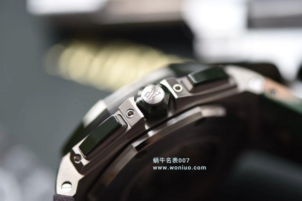 【视频评测】JF厂1比1精仿手表爱彼皇家橡树离岸型26400SO.OO.A054CA.01腕表 / AP213AP26400