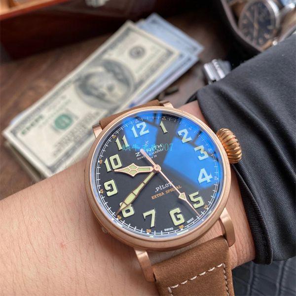 【视频评测】XF厂1比1精仿手表真力时青铜大飞29.2430.679/21.C753腕表价格报价