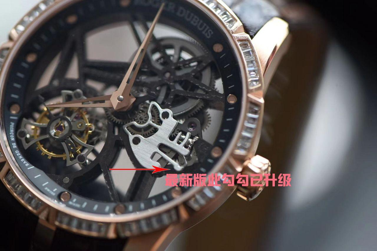 BBR厂官网V3版罗杰杜彼王者系列复刻镂空陀飞轮手表多少钱 / LJ087BBR