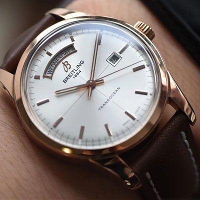 【视频评测】V7厂百年灵越洋系列超A高仿手表R45310121G1P1腕表价格报价