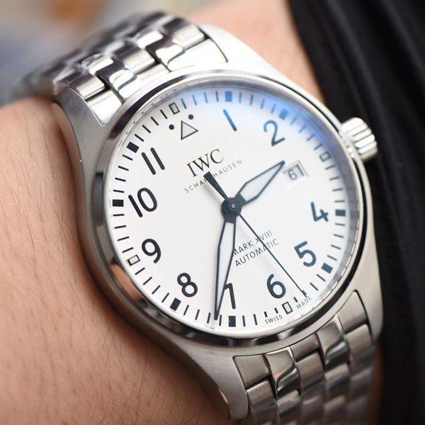 【视频评测】V7厂万国马克十八IW327002超A高仿手表钢带款价格报价
