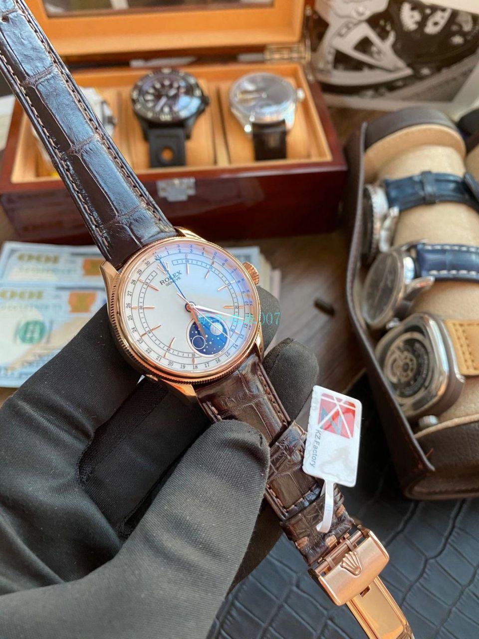 KZ厂1比1高仿手表劳力士超级切利尼m50535-0002腕表 / R657